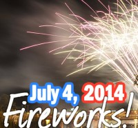 July 2014 Fireworks - Myrtle Beach