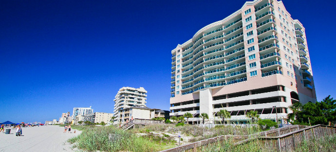 Blue Water Keyes Oceanfront Condo Als In North Myrtle Beach