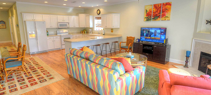 Havens House. The House on Havens in North Myrtle Beach   4 Bedroom Luxury Rental