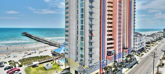 Prince Resort North Myrtle Beach Stunning Oceanfront