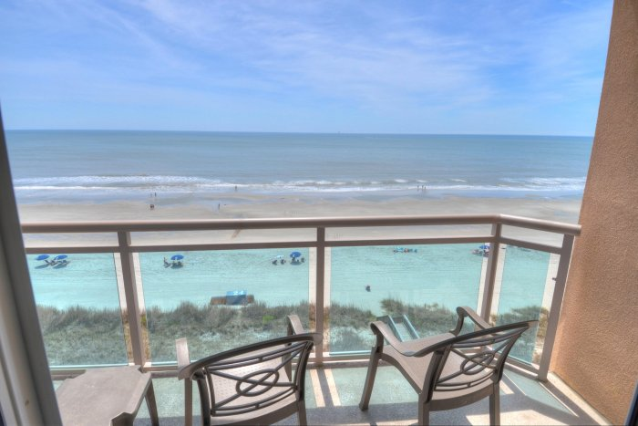 Atlantic breeze 705 ocean front condo north myrtle for View from balcony quotes
