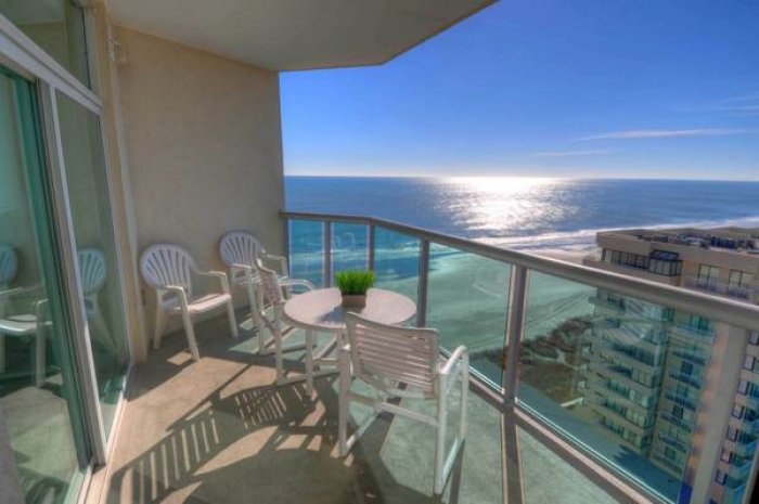 Blue water keyes ph 8 ocean view condo north myrtle for View from balcony quotes