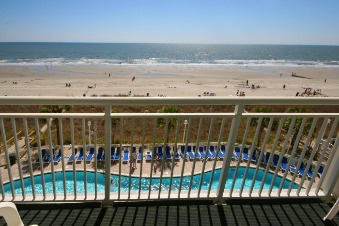 Baywatch resort 419 ocean front condo north myrtle for View from balcony quotes