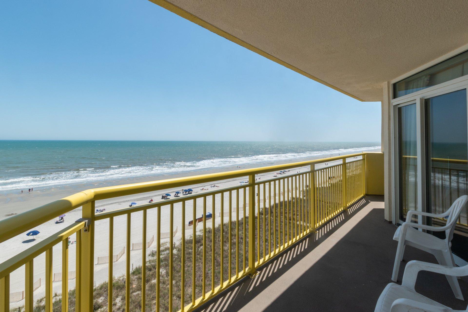 Baywatch Resort 702 Ocean Front Condo North Myrtle