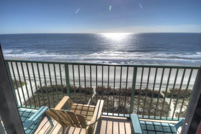 Beach club iii 9a ocean front condo north myrtle for View from balcony quotes