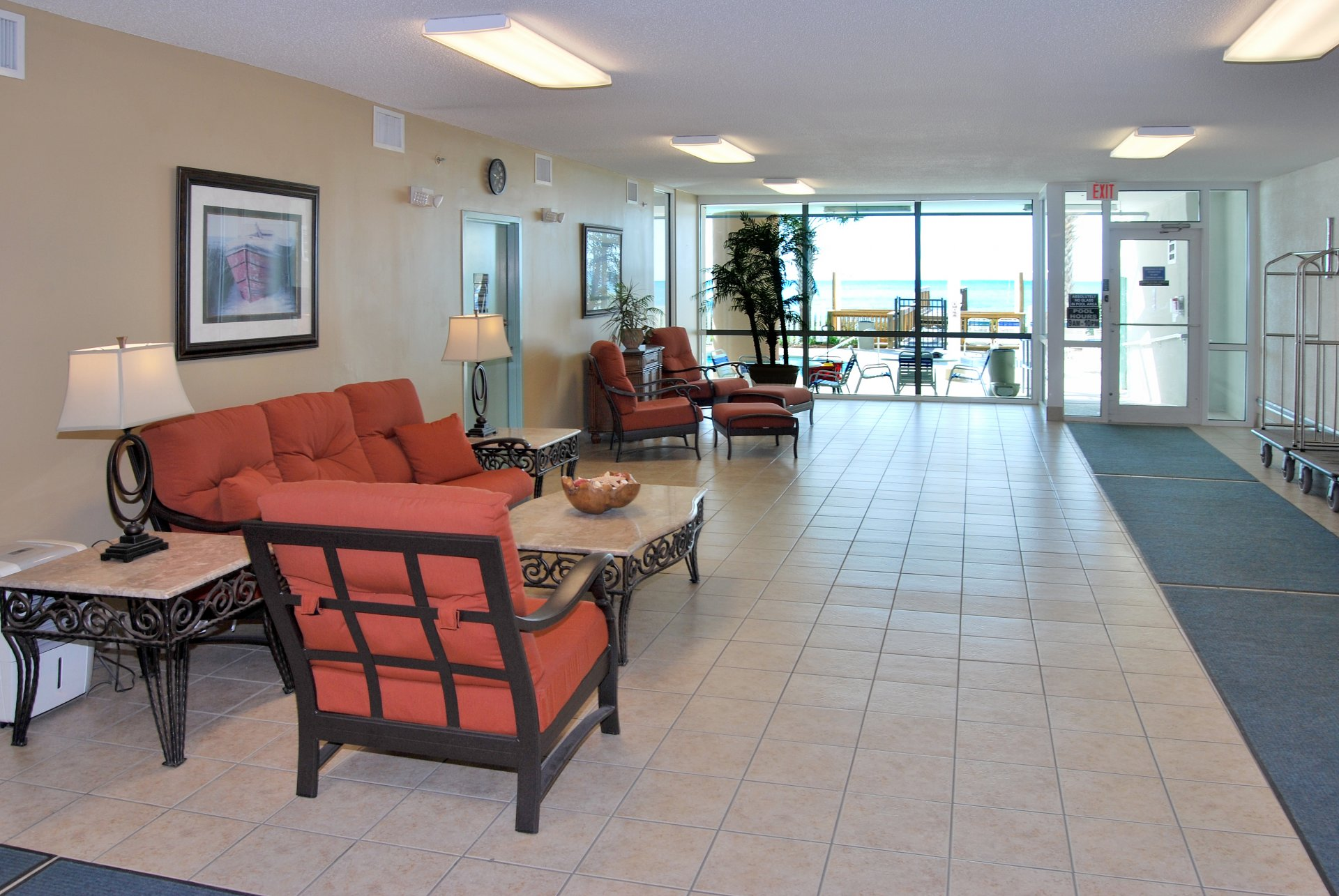 Blue Water Keyes Oceanfront Condo Rentals In North