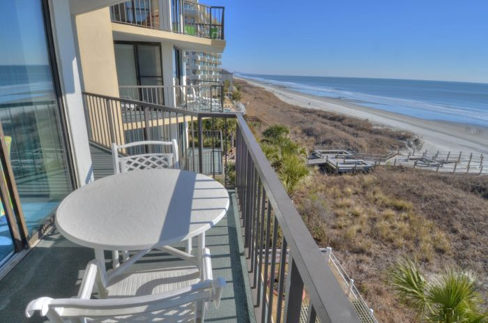 Crescent sands b4 ocean front condo north myrtle for View from balcony quotes