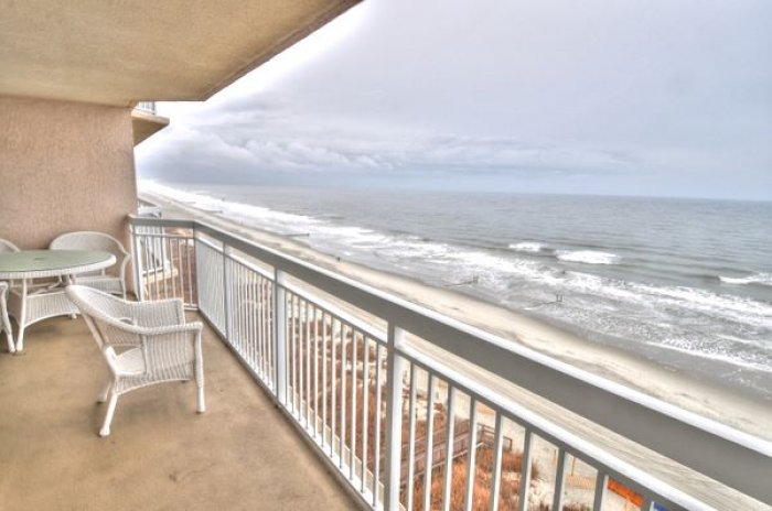 Crescent shores n 802 ocean front condo north myrtle for View from balcony quotes