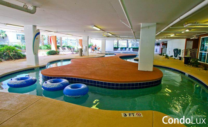 Myrtle Beach Oceanfront Hotels With Indoor Lazy River