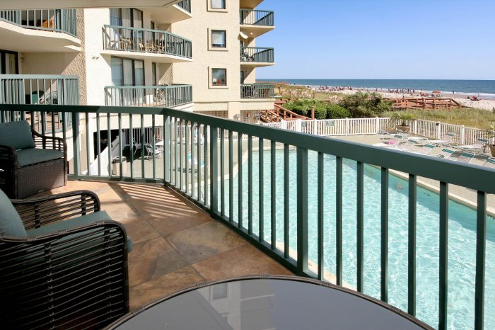 Ocean bay club 109 ocean front condo north myrtle for View from balcony quotes