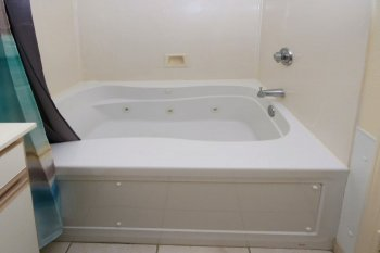 Jacuzzi Tub in Bathroom