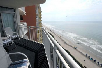Balcony View North