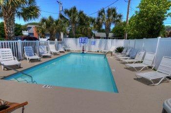 Pool View (Basketball Hoop Not Included)
