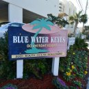 Blue Water Keyes Sign