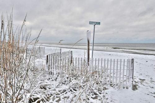 Snow In Myrtle Beach