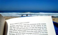 Read a book on the beach