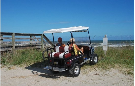 North Myrtle Beach Vacation Rental With Golf Cart