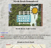 Myrtle Beach Remembered