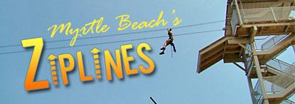 Zipline Attraction Myrtle Beach