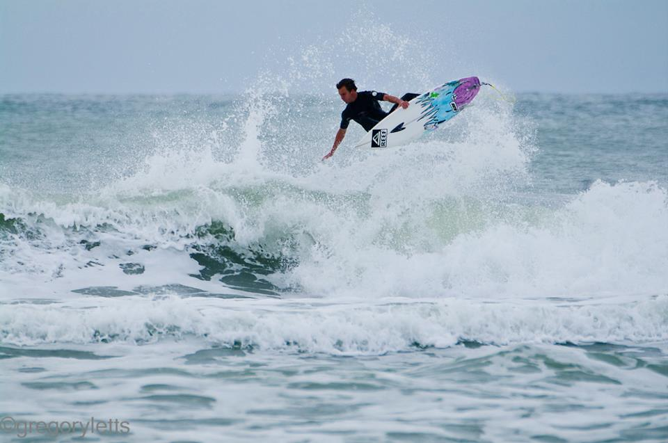 Surfing Myrtle Beach Sc