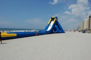 Hippo Water Slide North Myrtle Beach