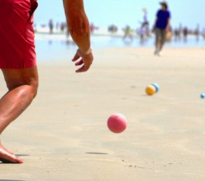 Beach Bocce Ball