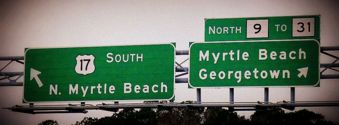 NMB Hwy Sign