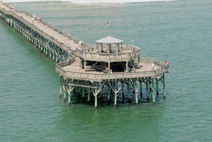 My five for april attractions to keep an eye out for for North myrtle beach fishing pier