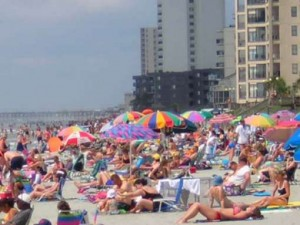 Myrtle Beach crowds
