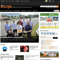 Weekly Surge website