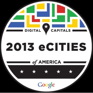 Google 2013 eCity Award