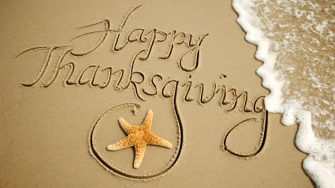 Thanksgiving in Myrtle Beach