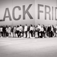 Black Friday lines