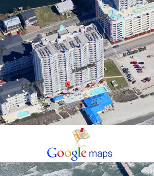 Use Google Maps for your Vacation Rental