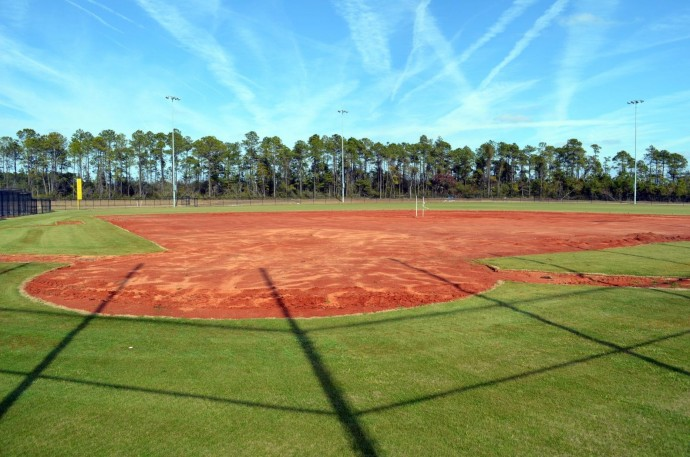 Baseball Field #4 Home Plate