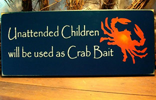 crab-bait-children