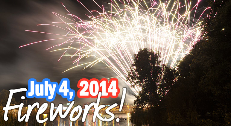July 2014 Fireworks - Myrtle Beach
