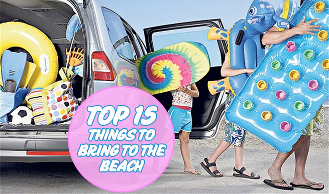 Top 15 Things To Bring To The Beach That You May Forget