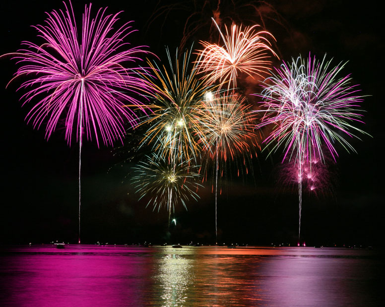 Fireworks Displays in Myrtle Beach