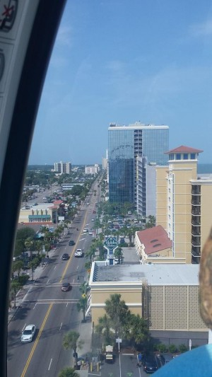 View from Skywheel