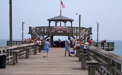 Myrtle beach landmarks to check out on your next vacation for Cherry grove pier fishing report