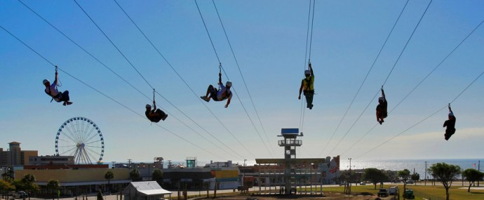 Zipline Adventure Myrtle Beach