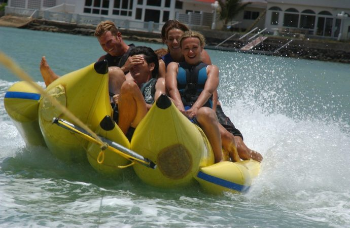 Myrtle Beach Watersports For The Whole Family Banana Boat Rides