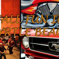 fall fun in myrtle beach