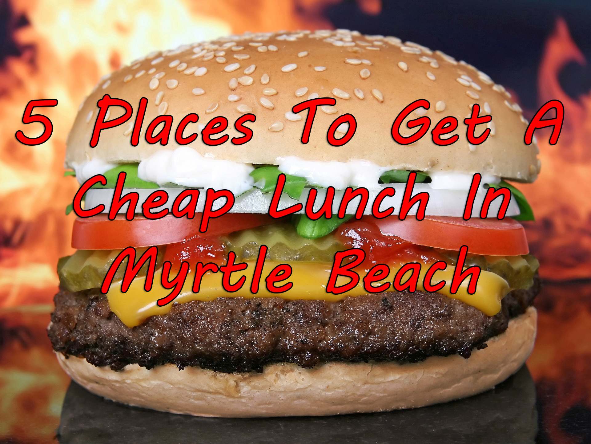 Places To Eat In North Myrtle Beach Sc