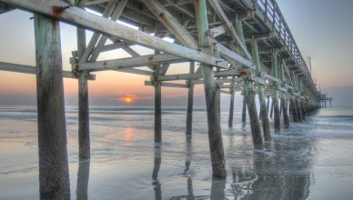 The Cherry Grove Pier in North Myrtle Beach
